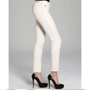 AG Stilt Corduroy Velvet Stilt Cigarette Jeans